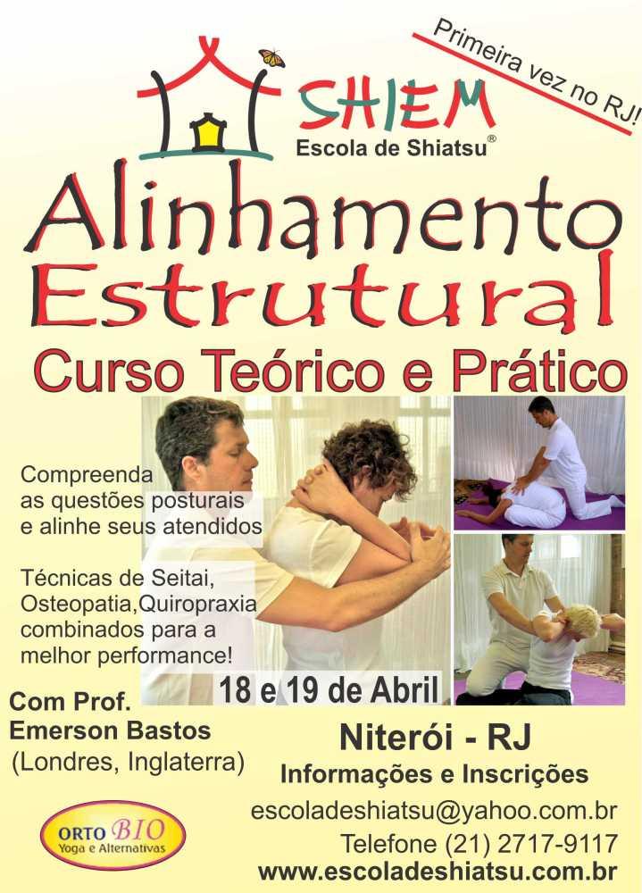 Alinhamento Estrutural: Corpo mais flexível, postura mais relaxada e harmoniosa, saúde global (1/5)