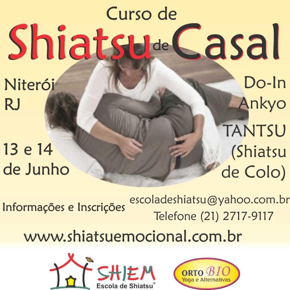 Casal Pleno com o Shiatsu para Casais